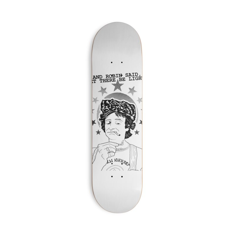 Robin Said Accessories Skateboard by whiteowlmystic's Artist Shop