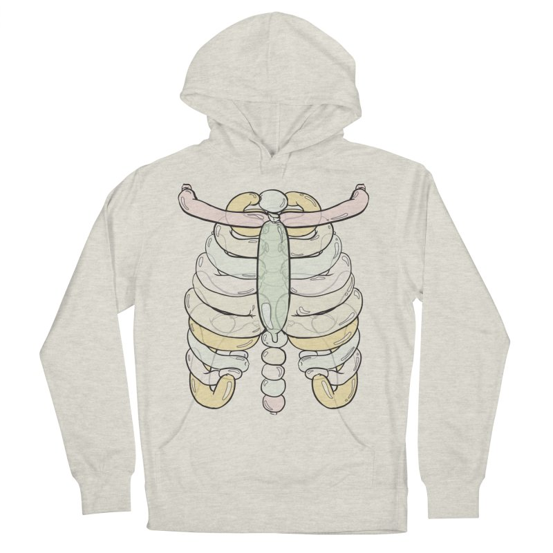 Bubble Guts Women's French Terry Pullover Hoody by whiterabbitsays's Artist Shop