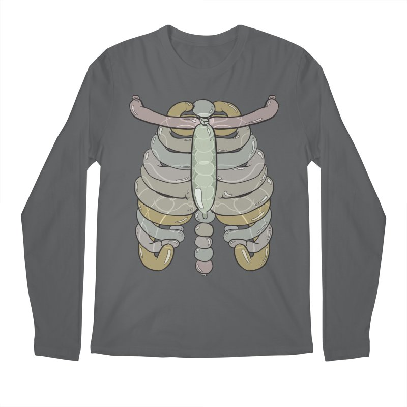 Bubble Guts Men's Longsleeve T-Shirt by whiterabbitsays's Artist Shop