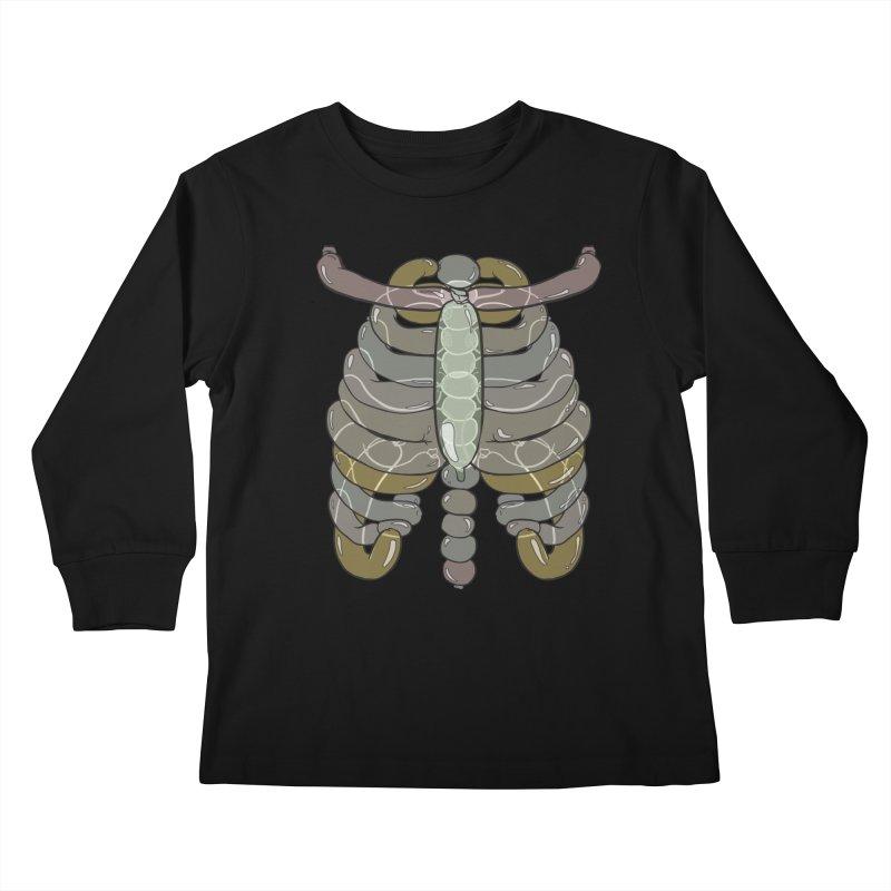 Bubble Guts Kids Longsleeve T-Shirt by whiterabbitsays's Artist Shop