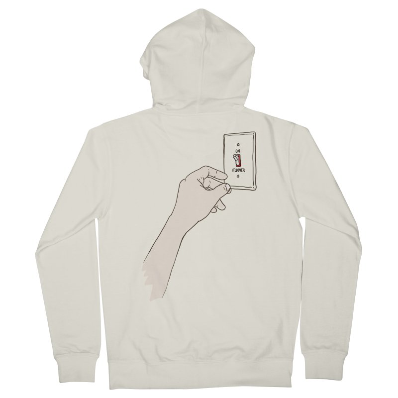 The Switch Men's Zip-Up Hoody by whiterabbitsays's Artist Shop
