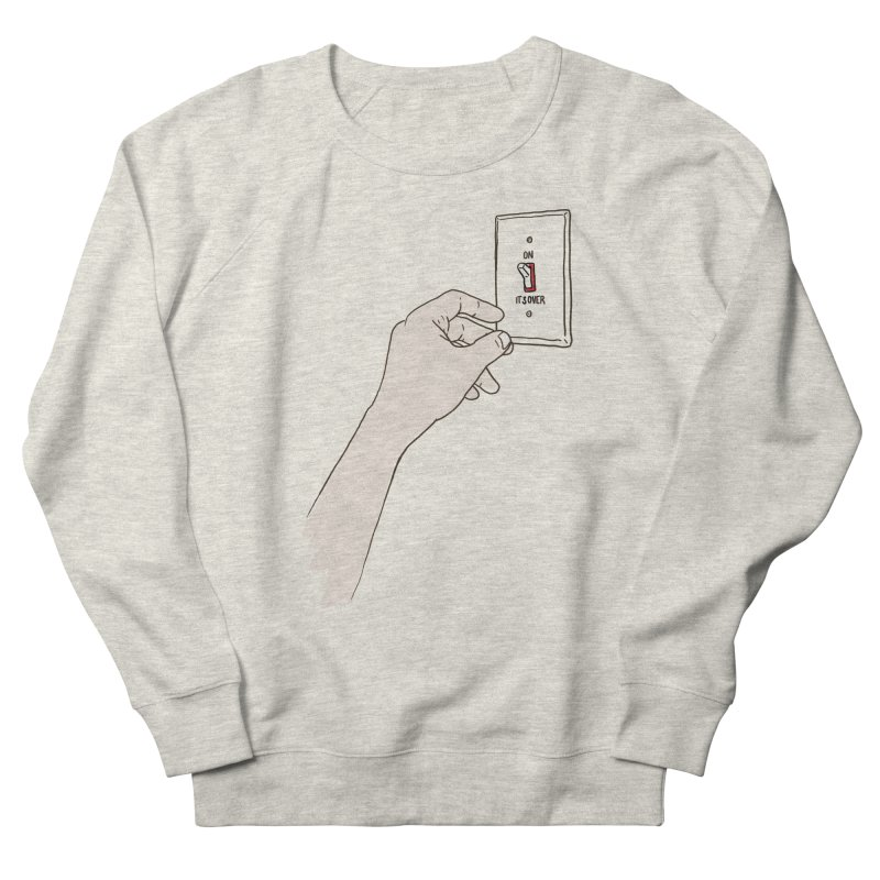 The Switch Men's French Terry Sweatshirt by whiterabbitsays's Artist Shop