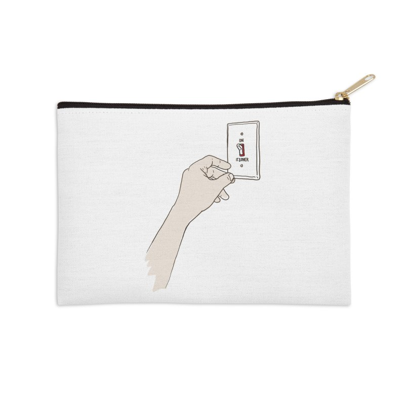 The Switch Accessories Zip Pouch by whiterabbitsays's Artist Shop