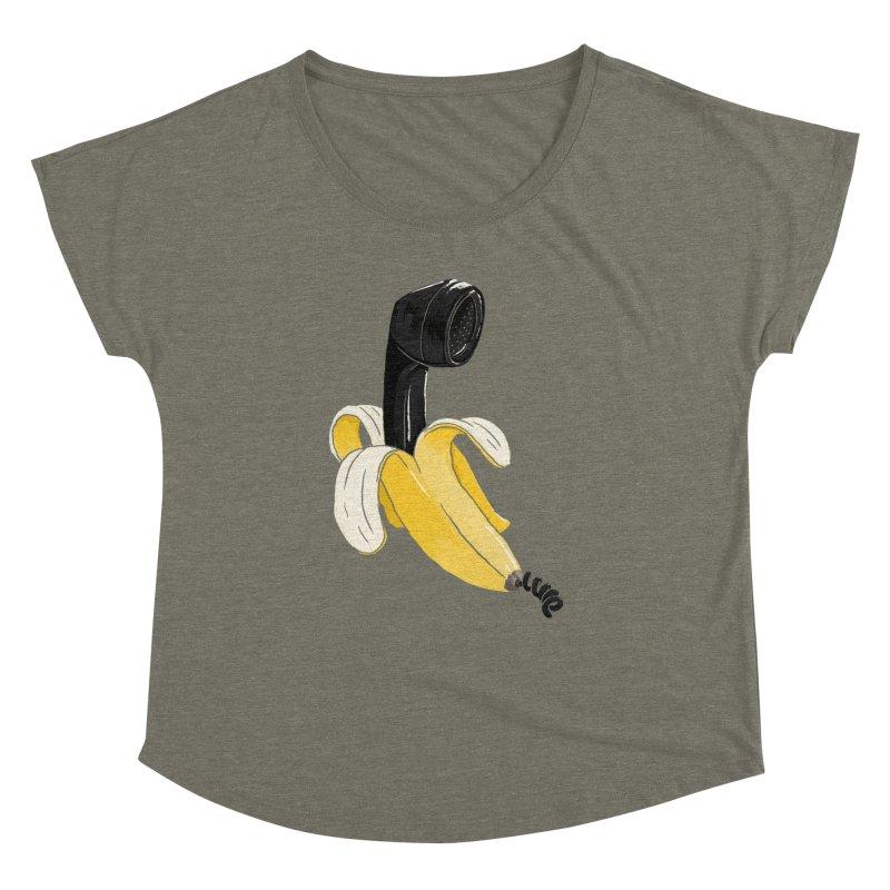 Banana Phone Women's Dolman by whiterabbitsays's Artist Shop
