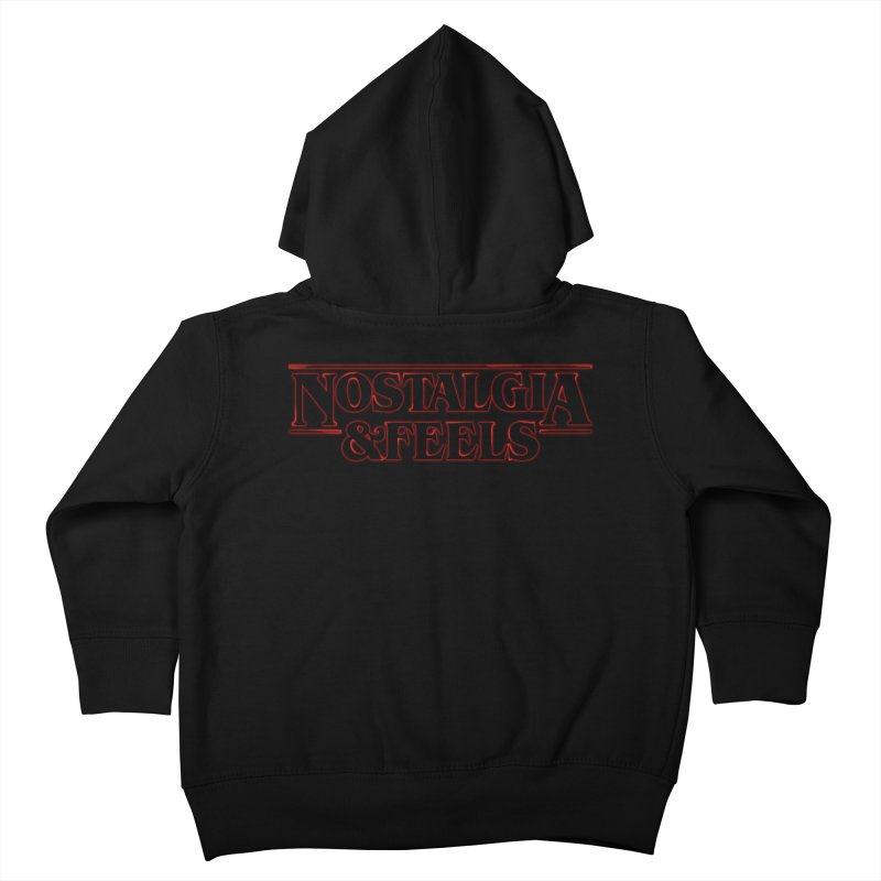 Absolute Nostalgia Kids Toddler Zip-Up Hoody by whiterabbitsays's Artist Shop