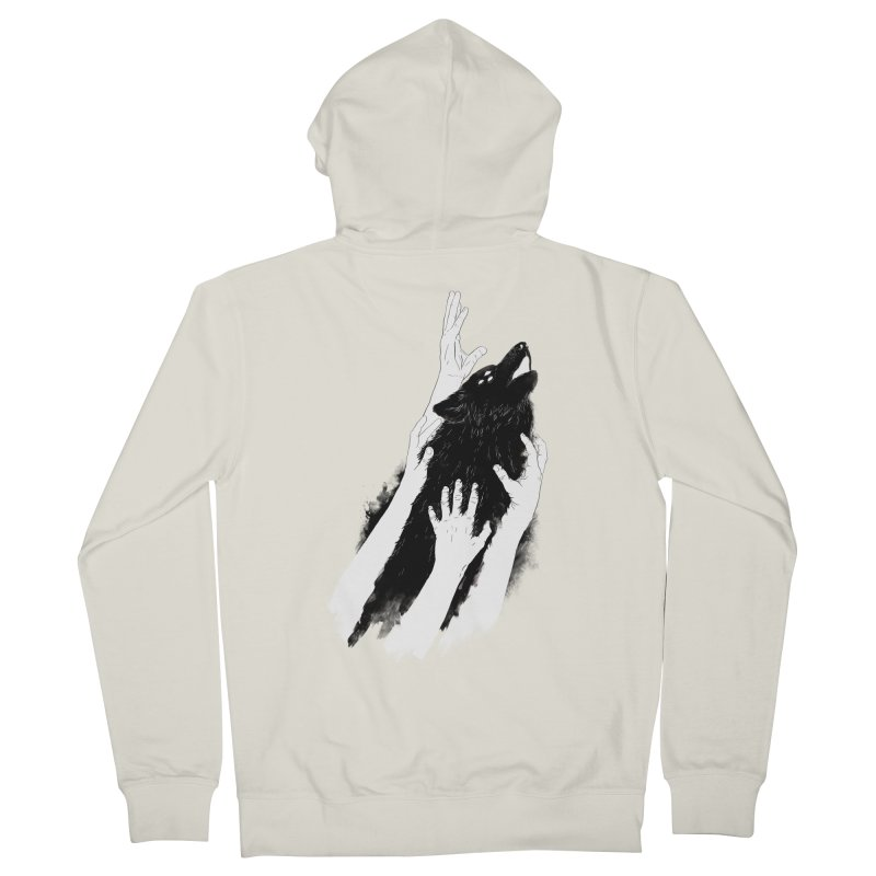Wolves Of Paris Women's Zip-Up Hoody by whiterabbitsays's Artist Shop
