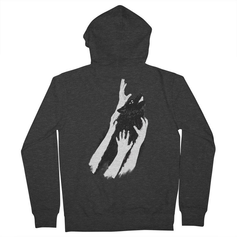 Wolves Of Paris Men's Zip-Up Hoody by whiterabbitsays's Artist Shop
