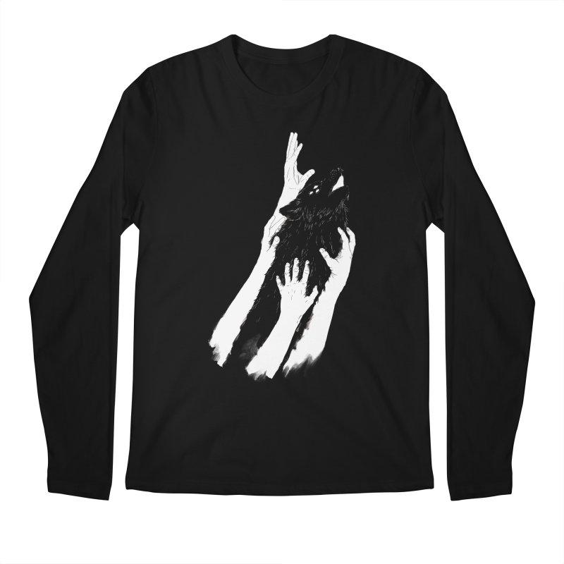 Wolves Of Paris Men's Longsleeve T-Shirt by whiterabbitsays's Artist Shop