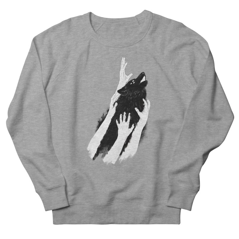 Wolves Of Paris Men's French Terry Sweatshirt by whiterabbitsays's Artist Shop