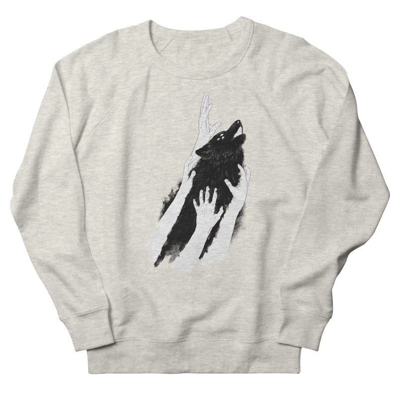 Wolves Of Paris Men's Sweatshirt by whiterabbitsays's Artist Shop