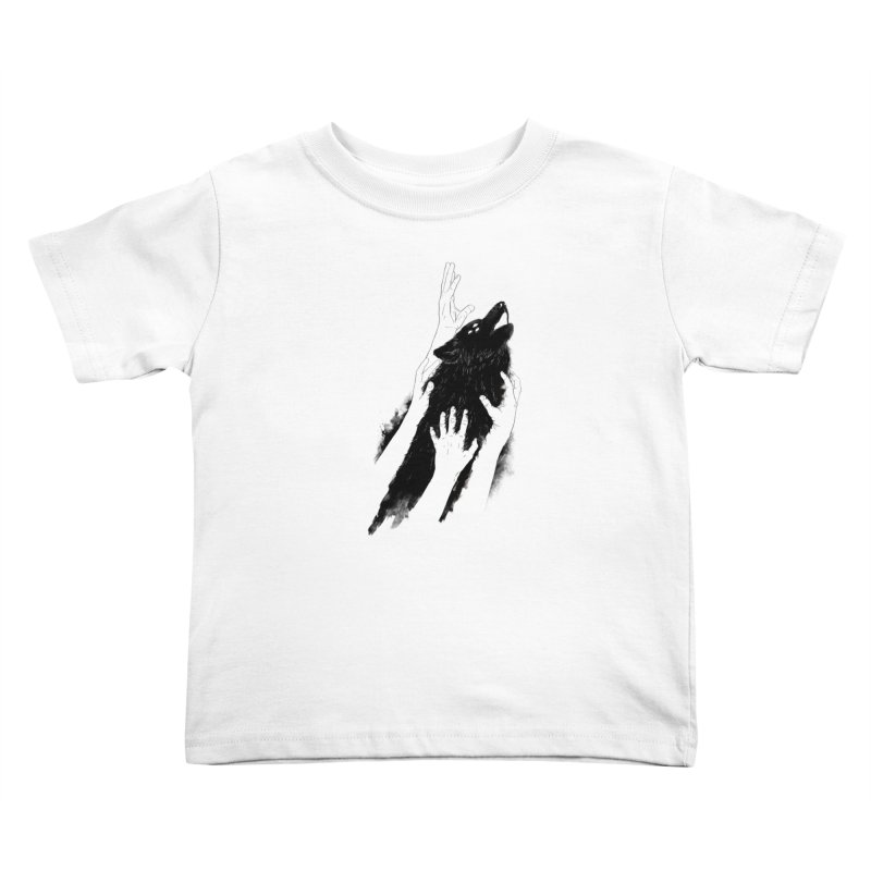 Wolves Of Paris Kids Toddler T-Shirt by whiterabbitsays's Artist Shop