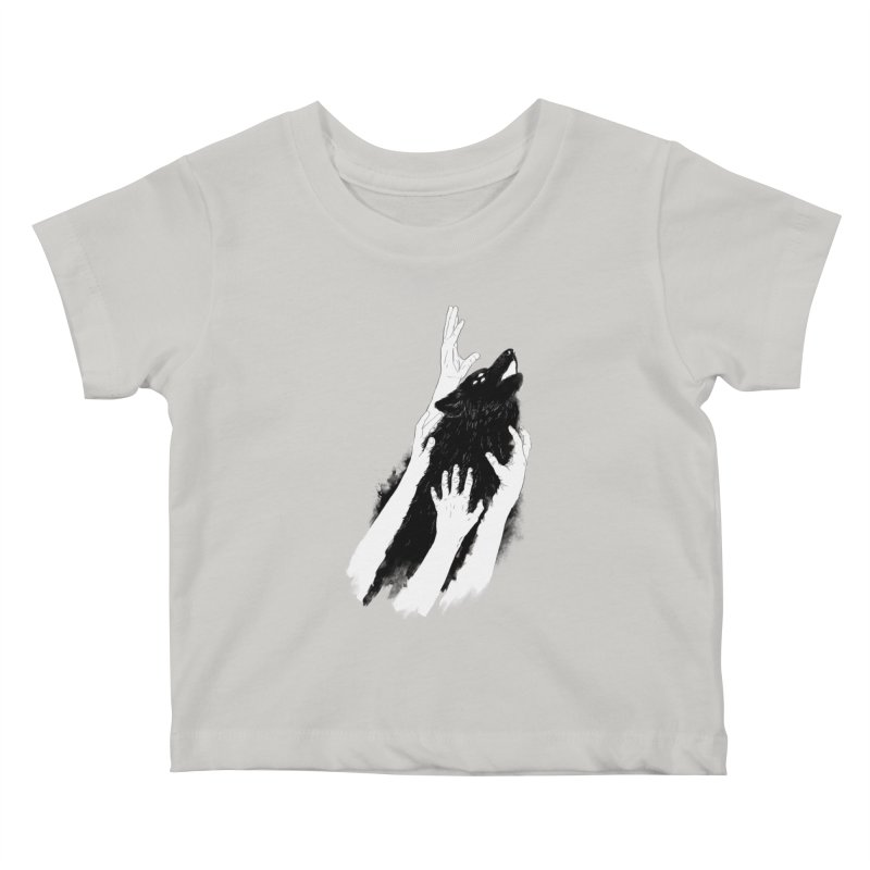 Wolves Of Paris Kids Baby T-Shirt by whiterabbitsays's Artist Shop