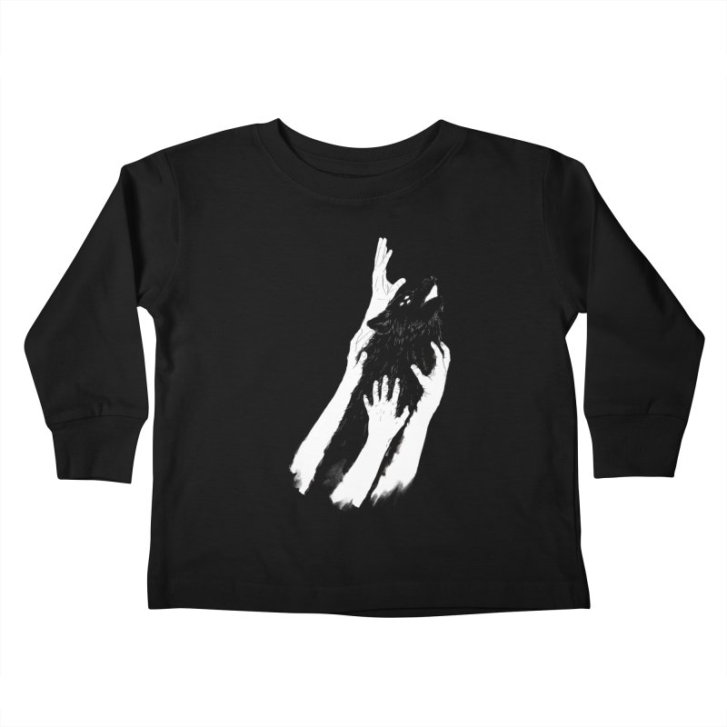 Wolves Of Paris Kids Toddler Longsleeve T-Shirt by whiterabbitsays's Artist Shop