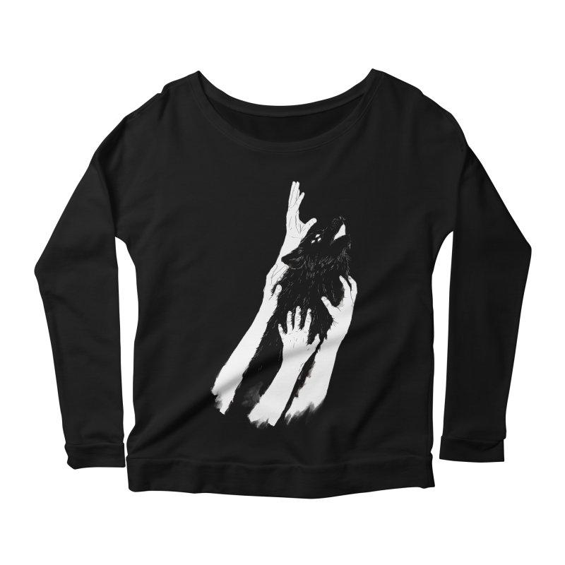 Wolves Of Paris Women's Longsleeve Scoopneck  by whiterabbitsays's Artist Shop