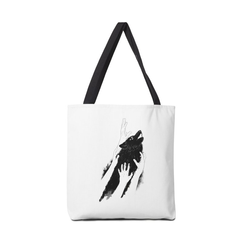 Wolves Of Paris Accessories Bag by whiterabbitsays's Artist Shop