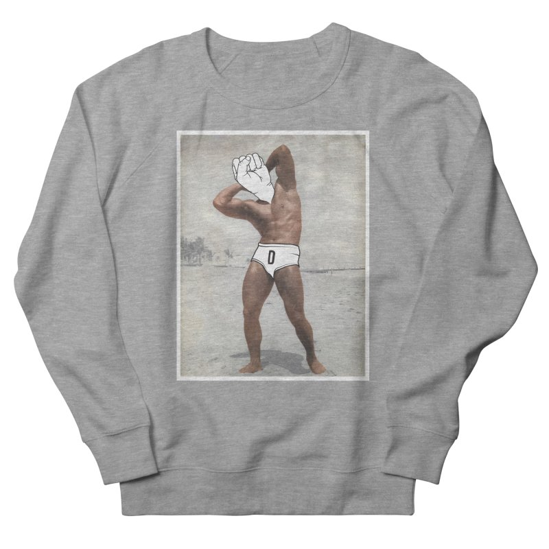 Knucklehead Men's French Terry Sweatshirt by whiterabbitsays's Artist Shop
