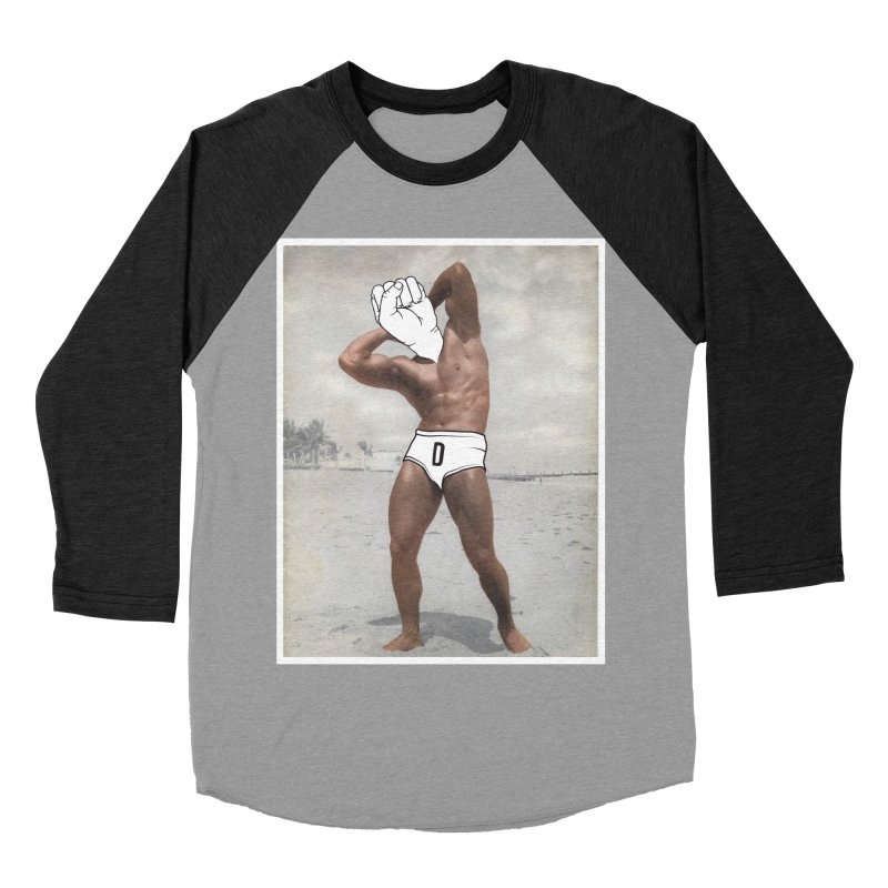 Knucklehead Men's Baseball Triblend T-Shirt by whiterabbitsays's Artist Shop