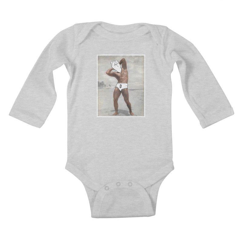 Knucklehead Kids Baby Longsleeve Bodysuit by whiterabbitsays's Artist Shop