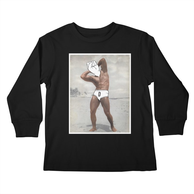 Knucklehead Kids Longsleeve T-Shirt by whiterabbitsays's Artist Shop