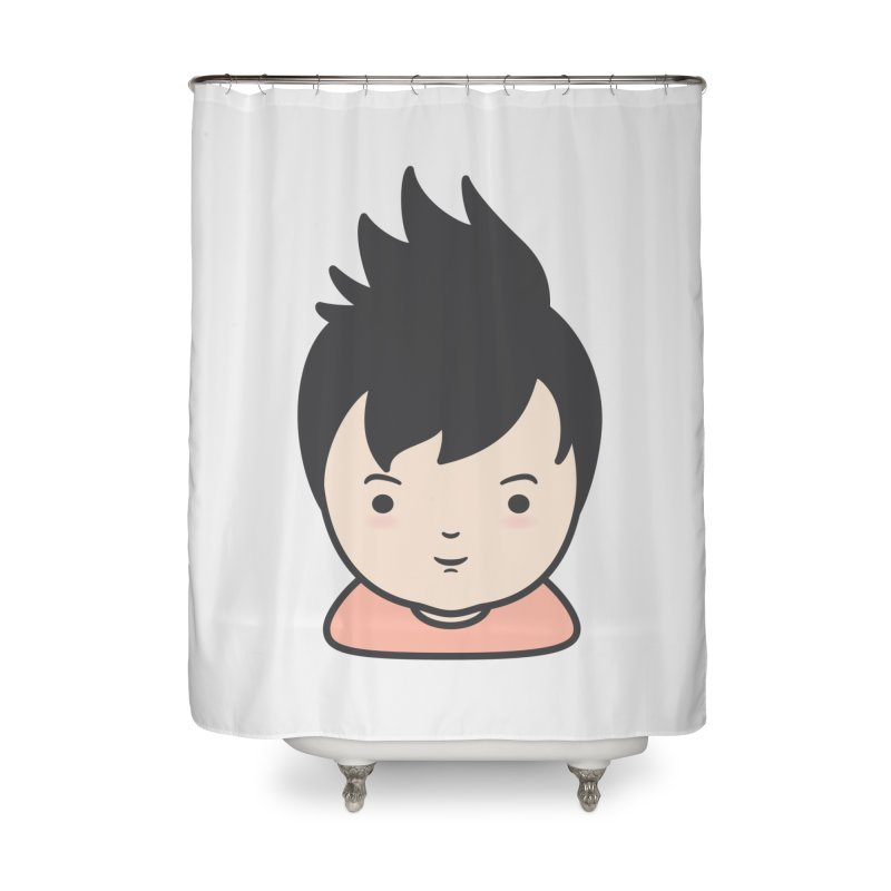 Baobao Home Shower Curtain by Whitewater's Artist Shop