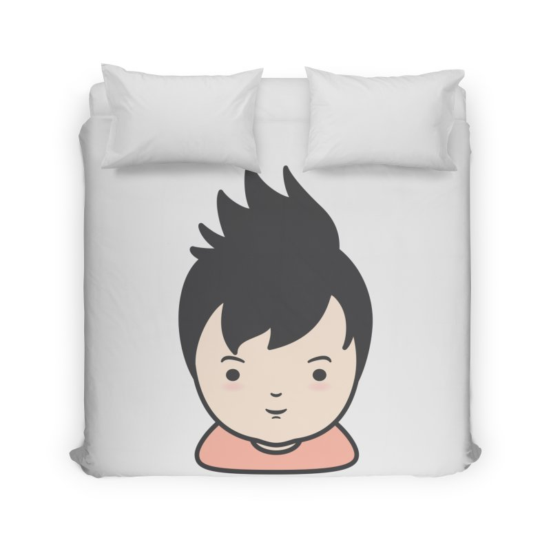 Baobao Home Duvet by Whitewater's Artist Shop