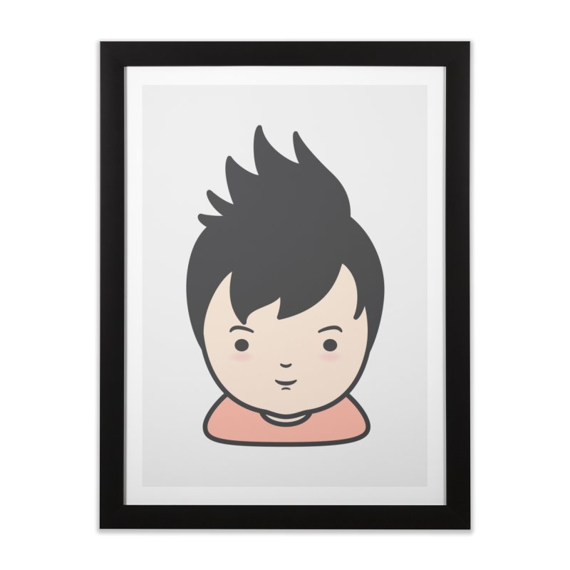 Baobao Home Framed Fine Art Print by Whitewater's Artist Shop