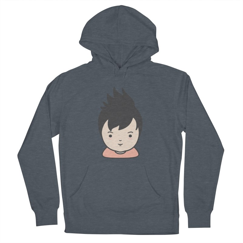 Baobao Men's French Terry Pullover Hoody by Whitewater's Artist Shop