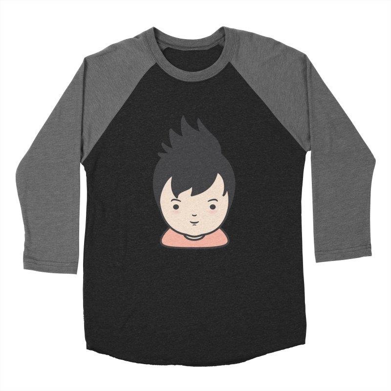 Baobao Women's Baseball Triblend T-Shirt by Whitewater's Artist Shop