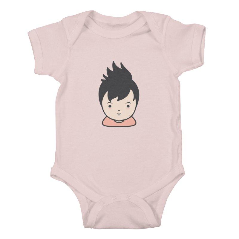 Baobao Kids Baby Bodysuit by Whitewater's Artist Shop