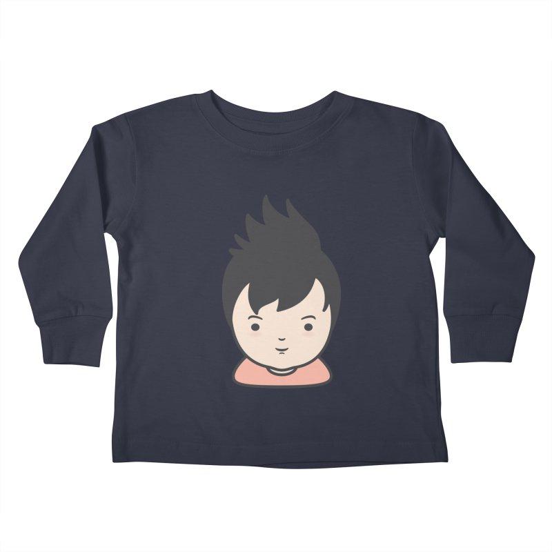 Baobao Kids Toddler Longsleeve T-Shirt by Whitewater's Artist Shop