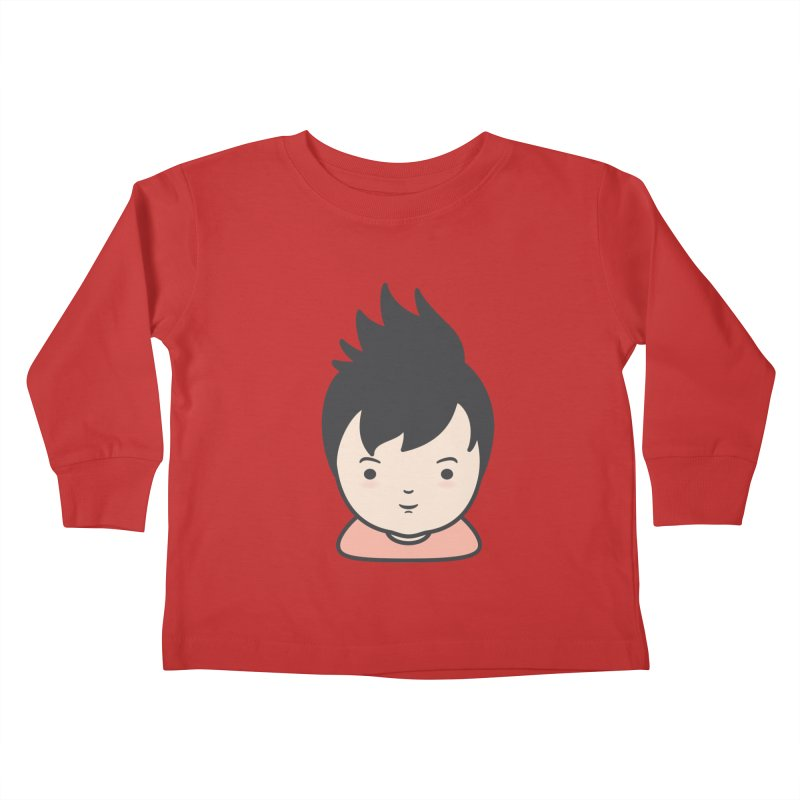 Baobao Kids Toddler Longsleeve T-Shirt by Whitewater's Artist Shop