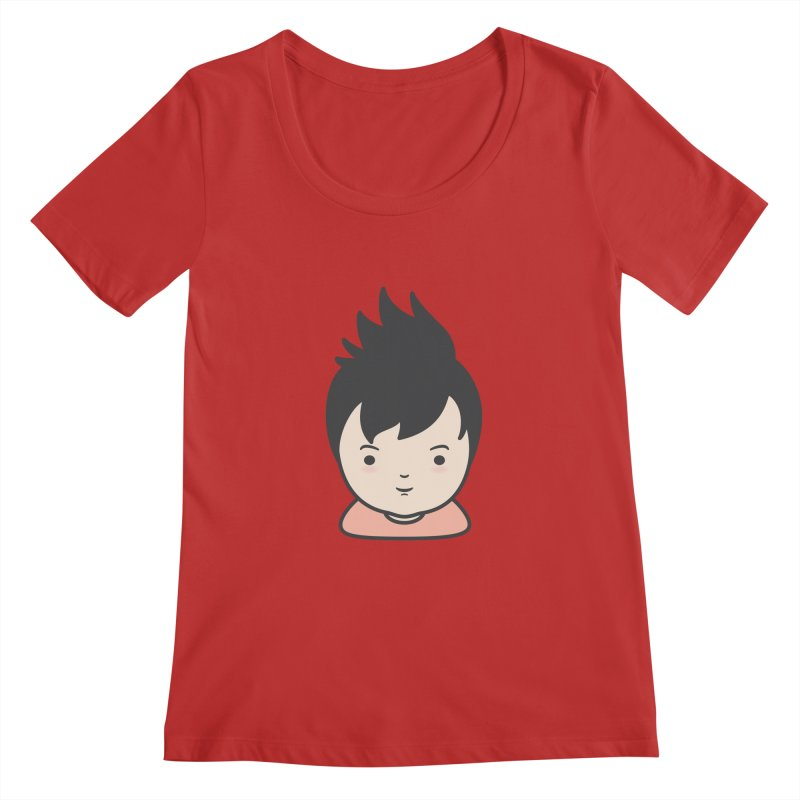 Baobao Women's Scoopneck by Whitewater's Artist Shop