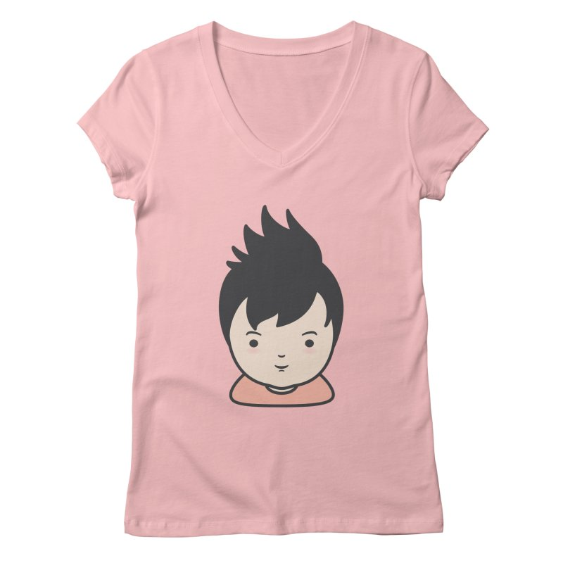 Baobao Women's V-Neck by Whitewater's Artist Shop