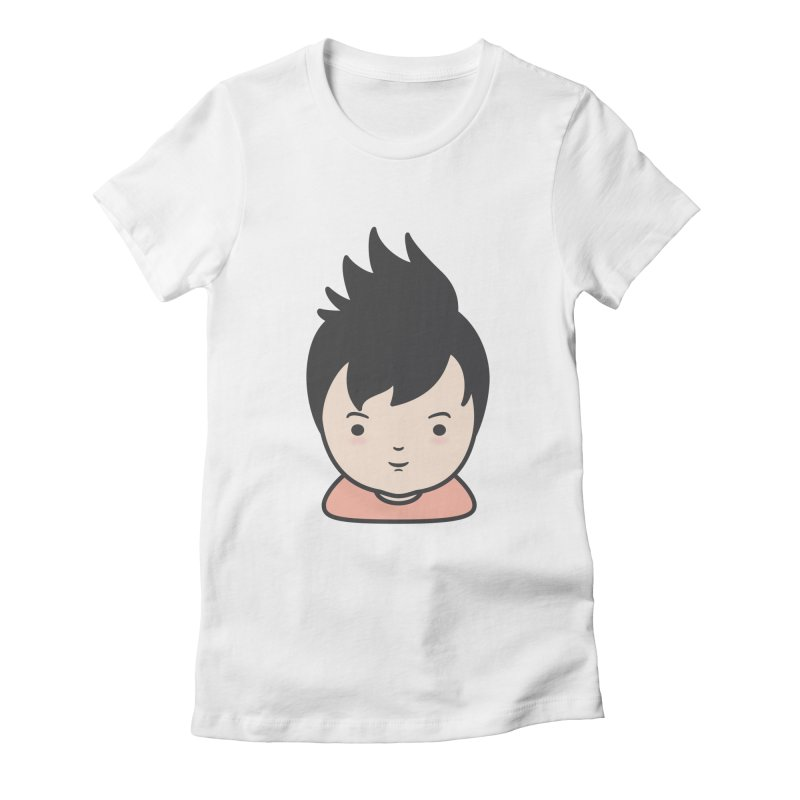 Baobao Women's Fitted T-Shirt by Whitewater's Artist Shop