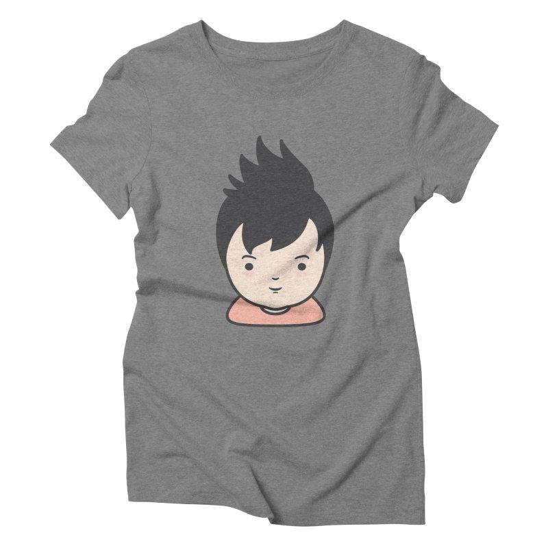 Baobao Women's Triblend T-Shirt by Whitewater's Artist Shop