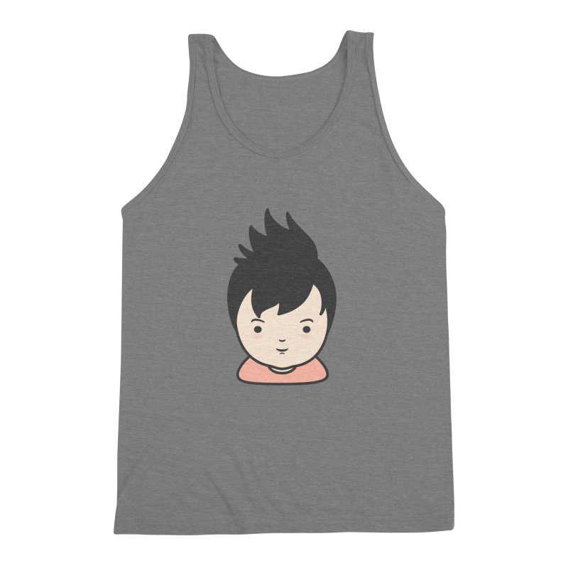 Baobao Men's Triblend Tank by Whitewater's Artist Shop