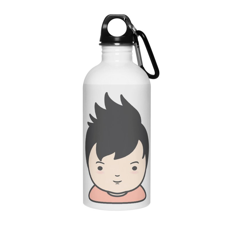 Baobao Accessories Water Bottle by Whitewater's Artist Shop
