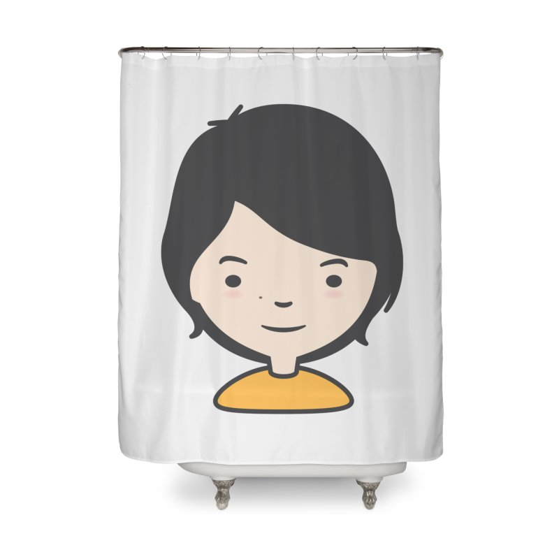 Mama Home Shower Curtain by Whitewater's Artist Shop