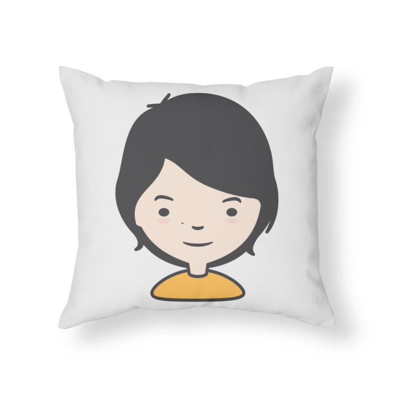 Mama Home Throw Pillow by Whitewater's Artist Shop