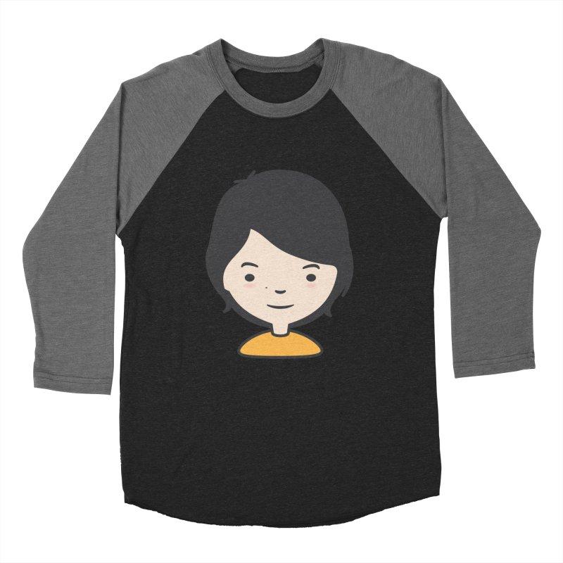Mama Men's Baseball Triblend T-Shirt by Whitewater's Artist Shop