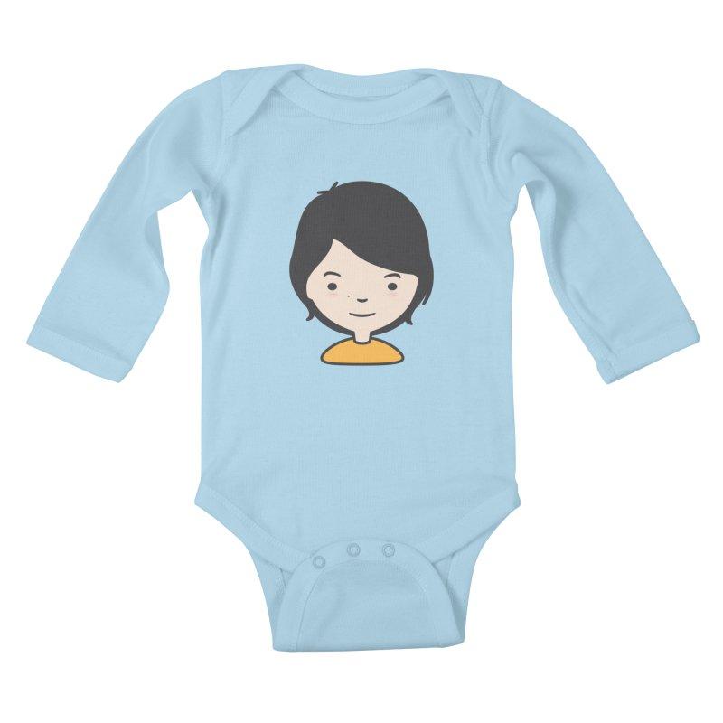 Mama Kids Baby Longsleeve Bodysuit by Whitewater's Artist Shop