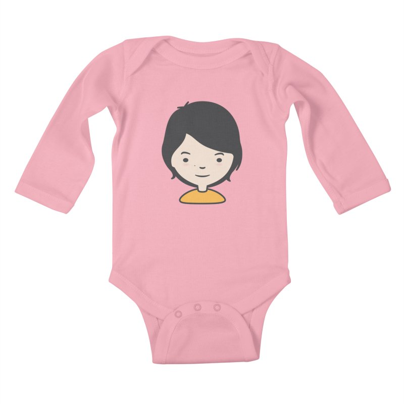 Mama Kids Baby Longsleeve Bodysuit by Whitewater's Artist Shop