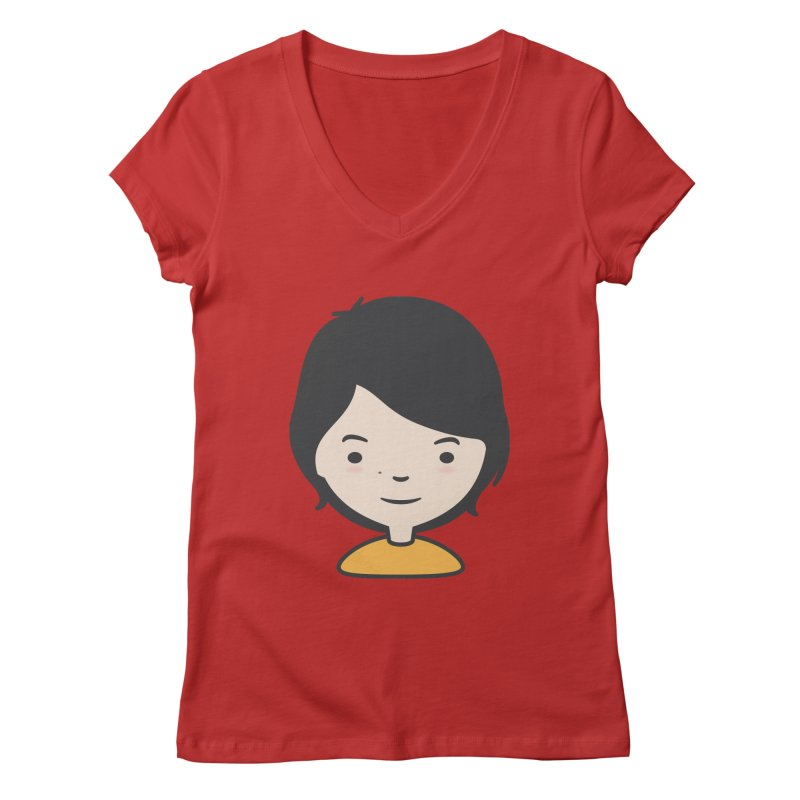 Mama Women's V-Neck by Whitewater's Artist Shop