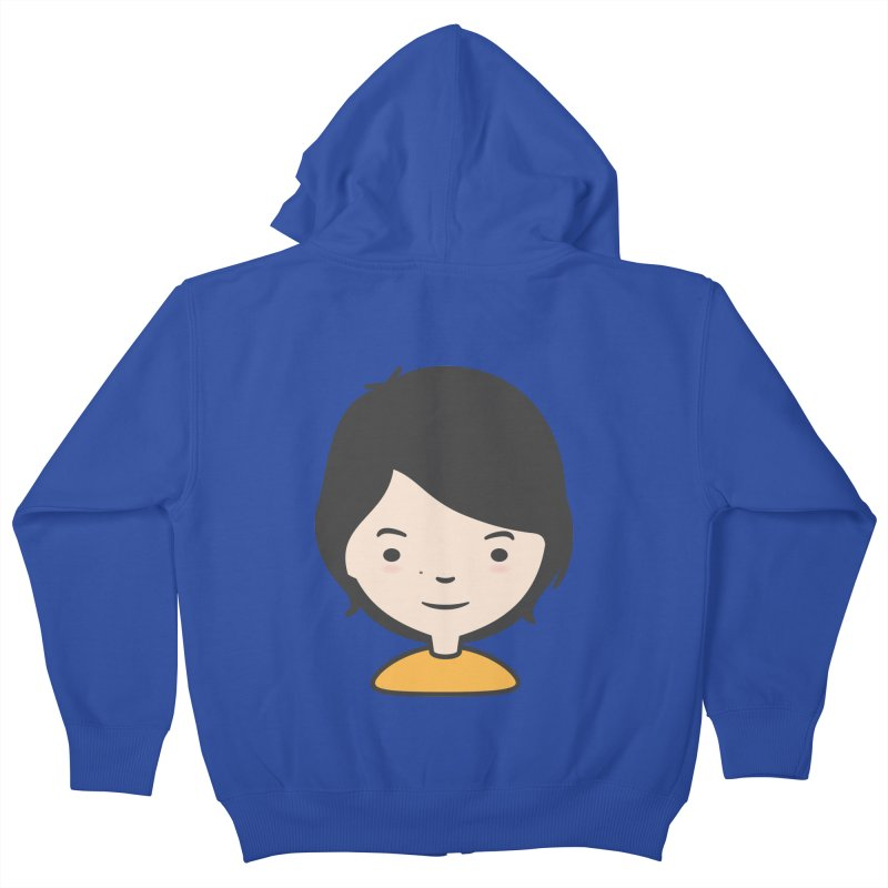 Mama Kids Zip-Up Hoody by Whitewater's Artist Shop