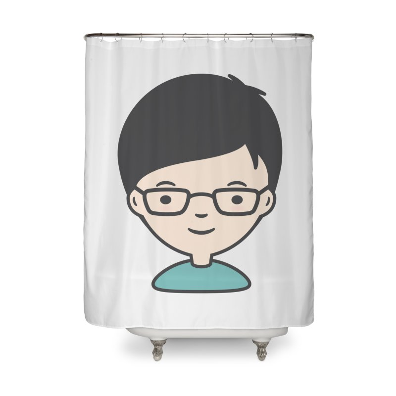 Papa Home Shower Curtain by Whitewater's Artist Shop