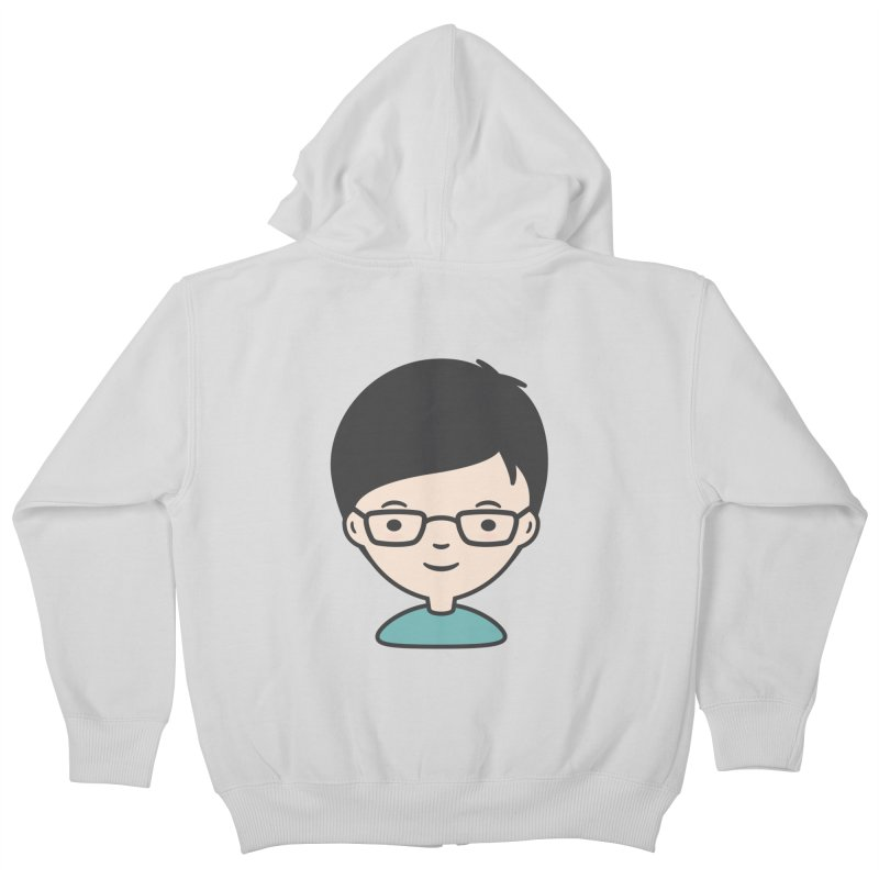 Papa Kids Zip-Up Hoody by Whitewater's Artist Shop