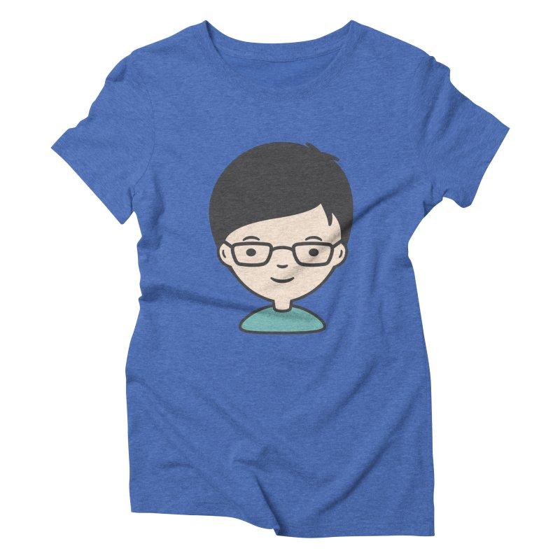 Papa Women's Triblend T-shirt by Whitewater's Artist Shop