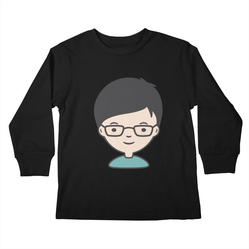 Papa Kids Longsleeve T-Shirt by Whitewater's Artist Shop