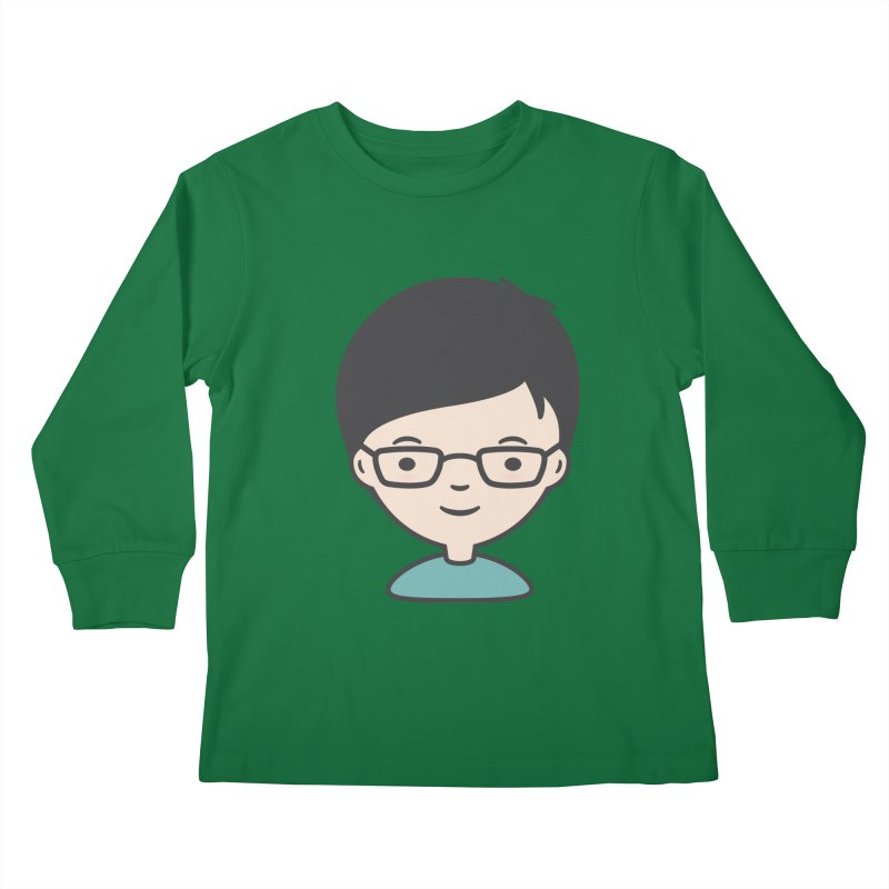 Papa Kids Longsleeve T-Shirt by Whitewater's Artist Shop