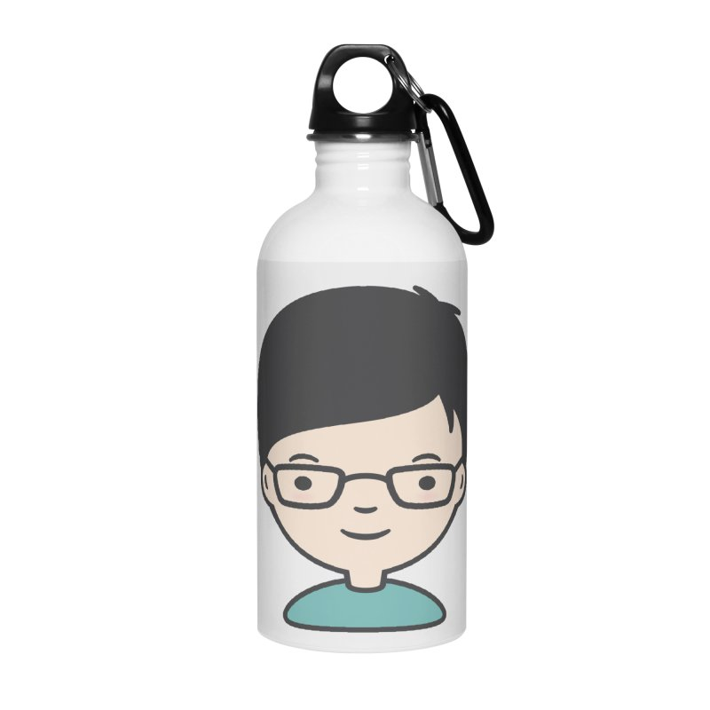 Papa Accessories Water Bottle by Whitewater's Artist Shop